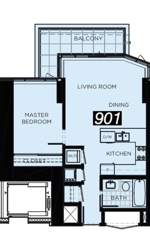 #901 Floor Plan